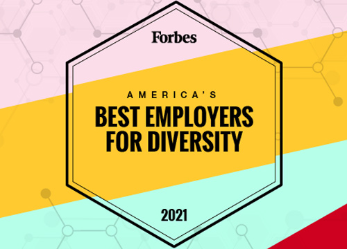 Forbes Best Employer for Diversity Photo
